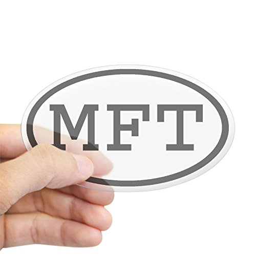 Price comparison product image CafePress - MFT Oval Oval Sticker - Oval Bumper Sticker, Euro Oval Car Decal