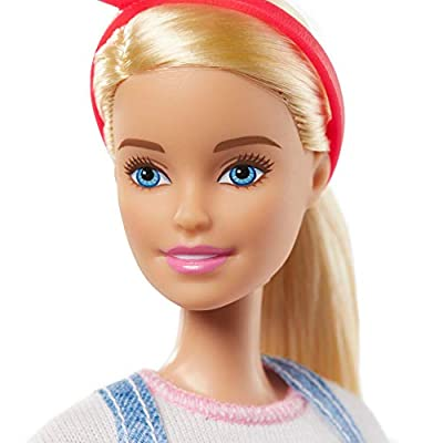Barbie Doll with 2 Career Looks That Feature 8 Clothing and Accessory Surprises to Discover with Unboxing, Gift for 3 to 7 Year Olds: Toys & Games