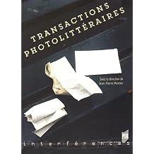 Transactions photolitt??raires by Jean-Pierre Montier (2015-06-18)