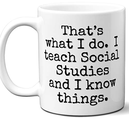 Funny Teacher Gifts. Social Studies Teacher
