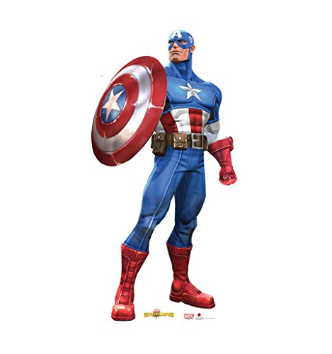 Captain America - Marvel: Contest of Champions - Advanced Graphics Life Size Cardboard Standup
