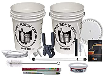 Home Brew Ohio Maestro Homebrew Beer Equipment Kit with Auto Siphon
