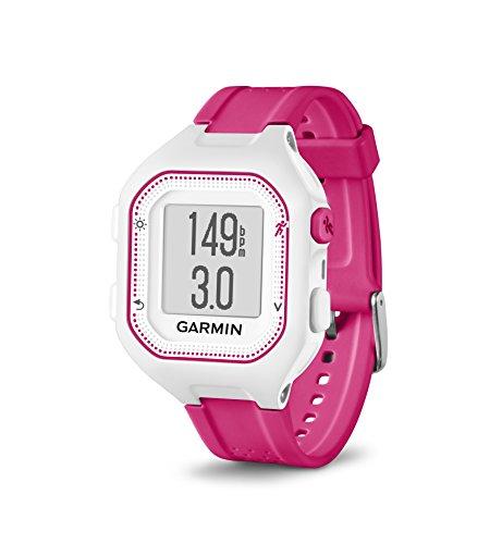 Garmin 010-01353-21 Forerunner 25 GPS Watch and Activity Tracker Pink/White