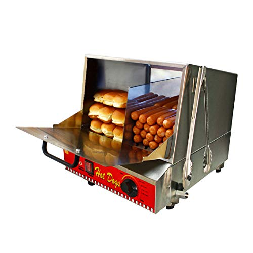 Paragon Classic Hot Dog Hut Steamer Merchandiser for Professional Concessionaires Requiring...