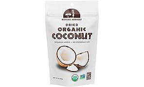 Mavuno Harvest Fair Trade Gluten Free Organic Dried Fruit, Coconut, 6 Count