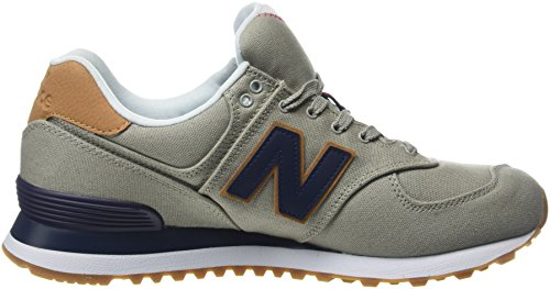 New Balance Herren Ml574y Yatch Pack Sneaker, Weiß (ml574ylb)