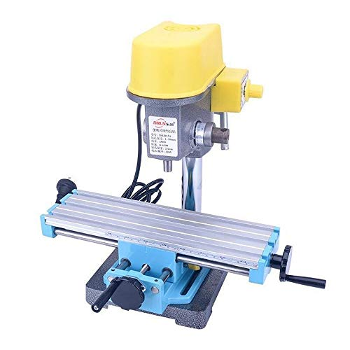 Worktable Milling Multifunction Milling Machine Compound Drilling Slide Table Cross Working Table for Mini Drill Bench Drill and Drill Bracket Series X-Y