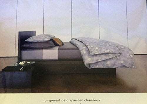 Calvin Klein Transparent Petals-Pearl Standard Sham 100% Cotton Calvin Klein Home Petals