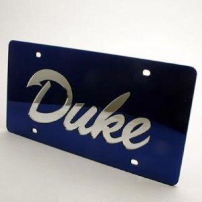 WinCraft Duke University S02800 Acrylic Classic License Plates (Duke Blue Devils License Plate)