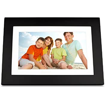 ViewSonic VFD1028W-11 10.1-Inch Digital Photo Frame Features High Resolution 1024x600 (Black)