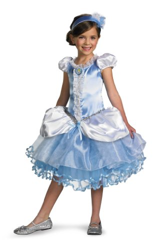 Disguise Girl's Disney Cinderella Tutu Prestige Costume, 4-6X