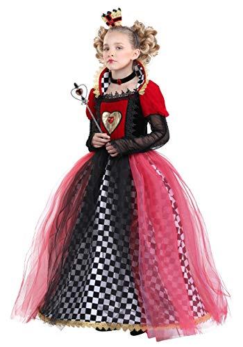 Girl's Ravishing Queen of Hearts Costume Medium]()