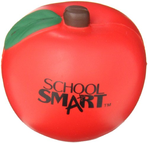 School Smart Apple Shape Stress Ball ()