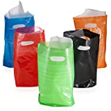 Assorted Colored Plastic Bags (100 pc)