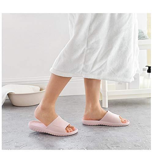 Bottom Da Soft Antiscivolo A Comfort Bagno Multicolore Augaust Home Donna Pantofole nOXwAA56T