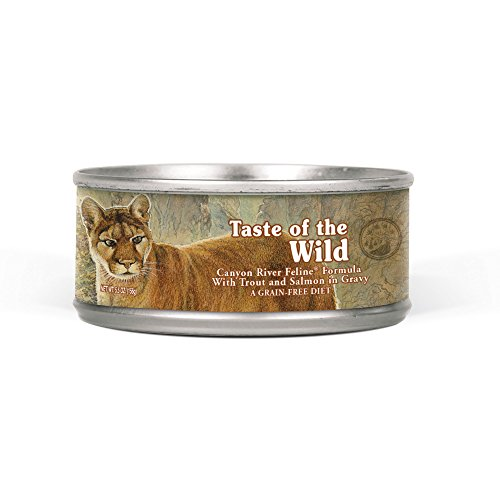 Taste Of The Wild Grain Free Real Meat Recipe Premium Wet Ca