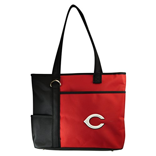 MLB Cincinnati Reds Womens Tote Bag with Embroidered Logo by Little Earth
