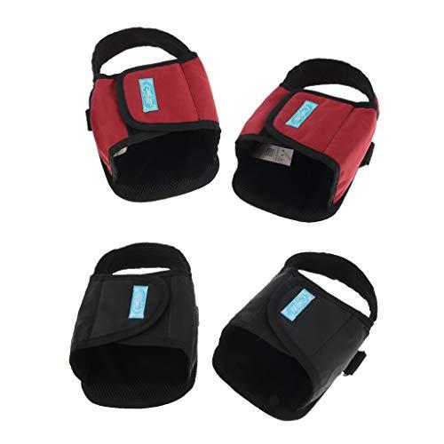 B Baosity 2 Pares Estriberas para Silla de Ruedas Pedal Clip de Pies Ayudas para Movilidad: Amazon.es: Salud y cuidado personal