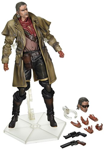 Square Enix Metal Gear Solid V: The Phantom Pain: Play Arts Kai Revolver Ocelot Action Figure (Metal Gear Solid V The Phantom Pain Review)
