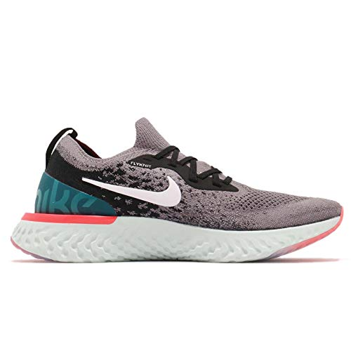 001 Teal React Multicolore Gunsmoke NIKE Sneakers Geode Epic Black Basses Homme Flyknit White wRF7Rqg