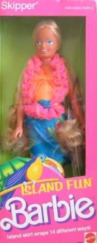 SKIPPER Island Fun Barbie Doll (1987)