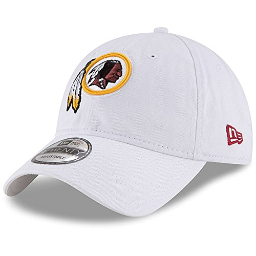 - Washington Redskins New Era Core Classic 9TWENTY Adjustable Hat White