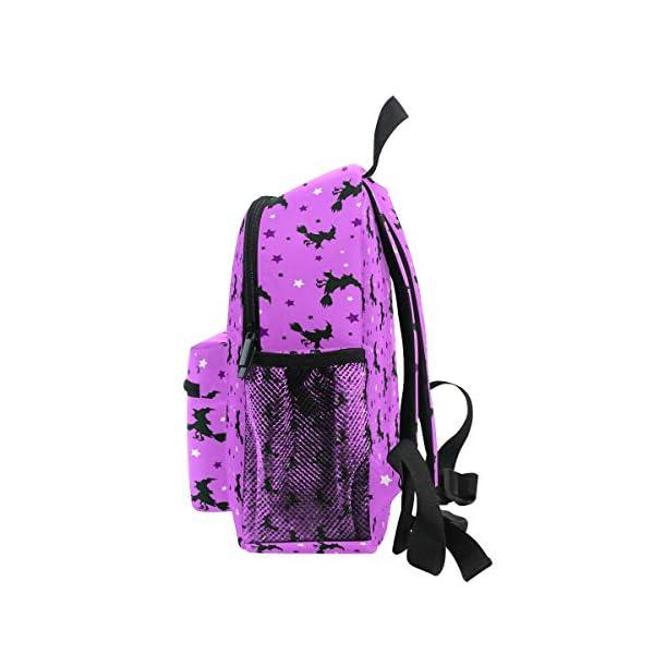 Halloween Strega Rosa Kid Zaino Scuola Bookbag Bambini Viaggio Daypack Ragazza Ragazzo 3-8 Anni Bambino Scuola… 4 spesavip