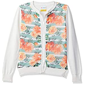 Poppers By Pantaloons Girls' Cardigan