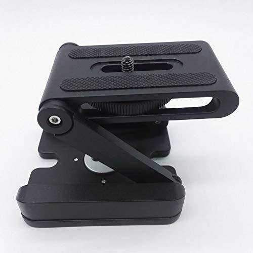 三脚用クイックリリースプレート プレート交換 安定 Zタイプ カメラ 折りたたみ 三脚 パン チルトボールヘッド デスクトップ スタンドホルダー デジタル一眼レフカメラアクセサリーの持ち運び簡単   B07NMMSLRT