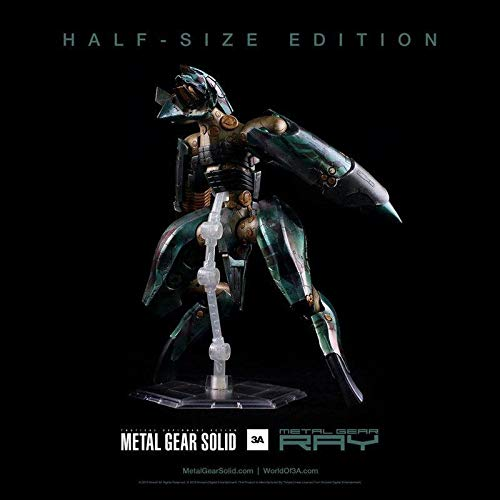ThreeA Toys Metal Gear Solid estatuas Figuras Ray 30 cm Half ...