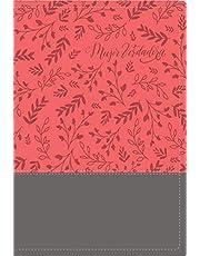 Biblia devocional Mujer Verdadera RVR60 - Duo-tono Coral