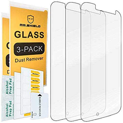 Mr.Shield [3-Pack] for Motorola Moto G4 / Moto G (4th Generation) [Tempered Glass] Screen Protector with Lifetime Replacement