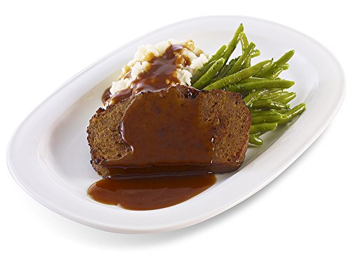 UPC 076637529191, Evie's Meatloaf with Mashed Potatoes and Green Beans, 16 oz