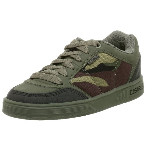 Osiris Little Kid/Big Kid Merk Sneaker,Olive/Camo,5 M US Big Kid (Osiris Shoe Boys)