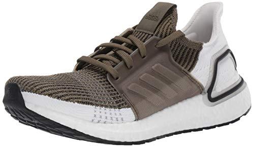 adidas Men's Ultraboost 19 Running Shoe, raw Khaki/Black, 7 M -