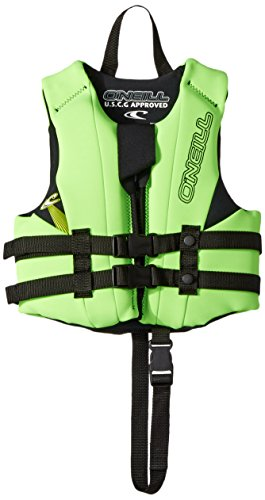 O'Neill Child Reactor USCG Life Vest, Daygo/Dayglo/Black, 30-50 lbs ()