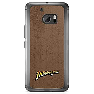 Loud Universe Classic Movie Style HTC 10 Case Indiana Jones HTC 10 Cover with Transparent Edges