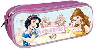 Disney Princesas Estuche portatodo con Doble Cremallera Bolsillo: Amazon.es: Juguetes y juegos