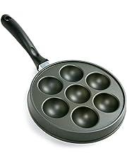 Norpro 3113 Cast-Aluminum Nonstick Aebleskiver Stuffed-Pancake Pan