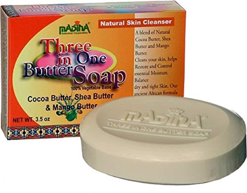 Madina Three in One Butter Soap, 3.5 oz Pack of 12