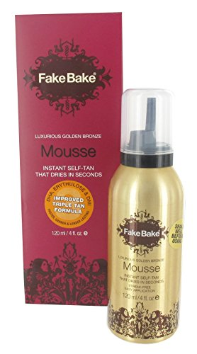 (Fake Bake Self-Tanning Mousse, 4-Ounces )