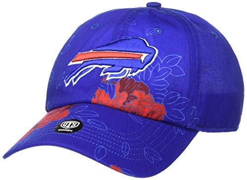 OTS NFL Buffalo Bills Women's Elsie Challenger Adjustable Hat, Team Color, Women's (Buffalo Bills Hats Red)