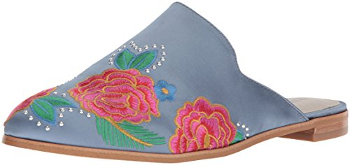 - Kenneth Cole New York Women's Roxanne 2 Embroidered Flat Mule, Blue, 8.5 M US