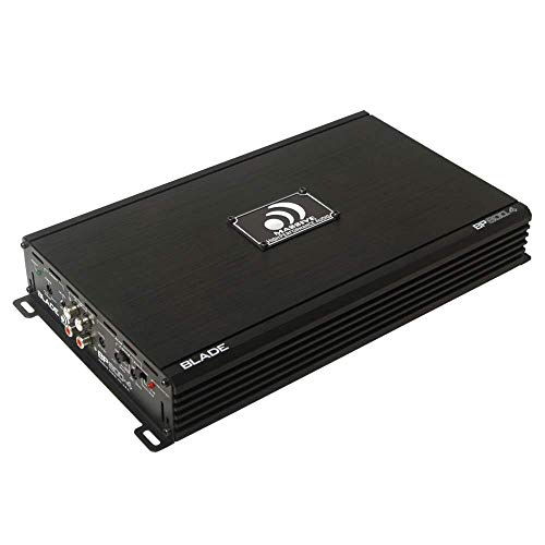 - Massive Audio BP800.4 Blade Power Series. 800 Watt, 4 Channel, 2 Ohm Stable, Class A/B, Car Amplifier with Bass Boost.