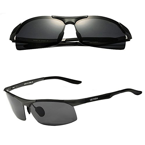 Gray 2015 Aluminium Polarized Sunglasses Aviator Wayfarer Outdoor Driving Sun - With Sunglasses Deal It Transparent