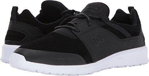 DC Shoes Men's Heathrow Prestige Shoes Black/White 8.5