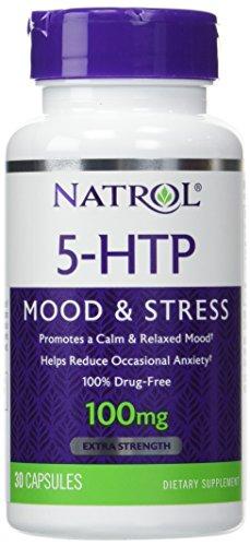 Natrol 5-HTP 100 mg Capsules 30 ea by Natrol