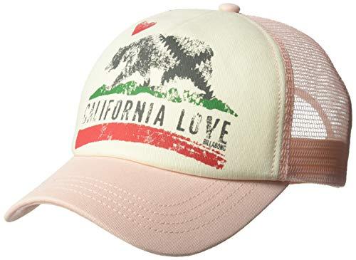 Billabong Girls' Girls' Pitstop Trucker Hat Pink Lily One ()