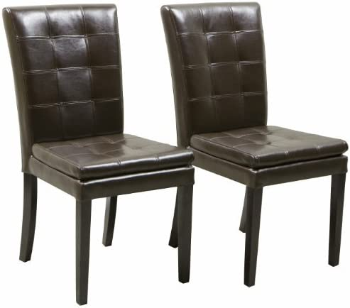 Christopher Knight Home Crayton Leather Dining Chair