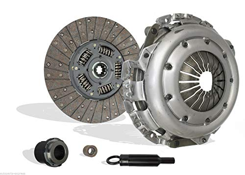 Clutch Kit works with Chevrolet GMC C1500 Suburban C2500 K1500 K2500 Suburban P30 Yukon Tahoe Base Ls Sierra Denali Pickup Extended Crew Cab 1997-2000 5.7L 350Cu. In. V8 GAS -